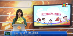 Môn Tiếng Anh - Lóp 5 | Unit 13: What do you do in your free time?- Lesson 3