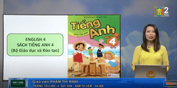 Môn Tiếng Anh - Lớp 4 | Unit 14: What does he look like? - Lesson 1
