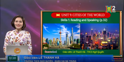Môn Tiếng Anh - Lớp 6 | Unit 9: Cities of the world - Skills 1: Reading and Speaking